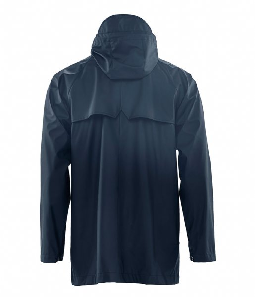 Rains Regenjas Short Coat blue (02)