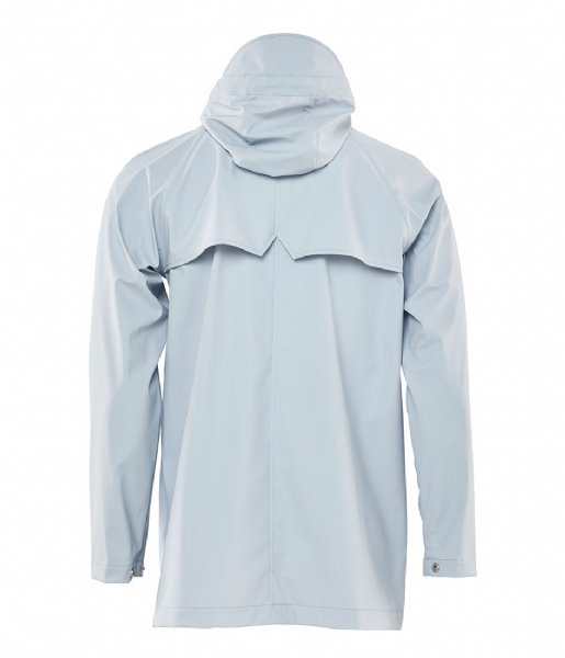 Rains Regenjas Short Coat ice grey (94)