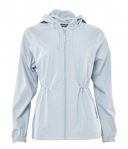 Rains Regenjas W Jacket ice grey (94)