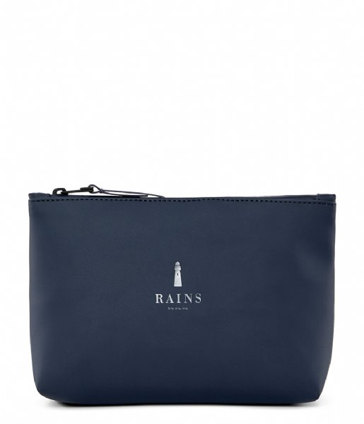 Rains Toilettas Cosmetic Bag blue (02)