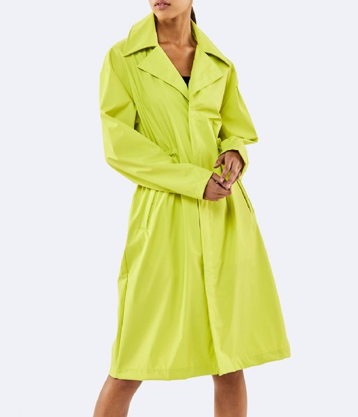 Rains Regenjas LTD Curve Jacket neon yellow (27)