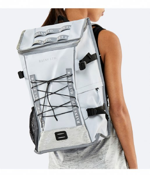 Rains Dagrugzak LTD Mountaineer Bag ice grey (94)