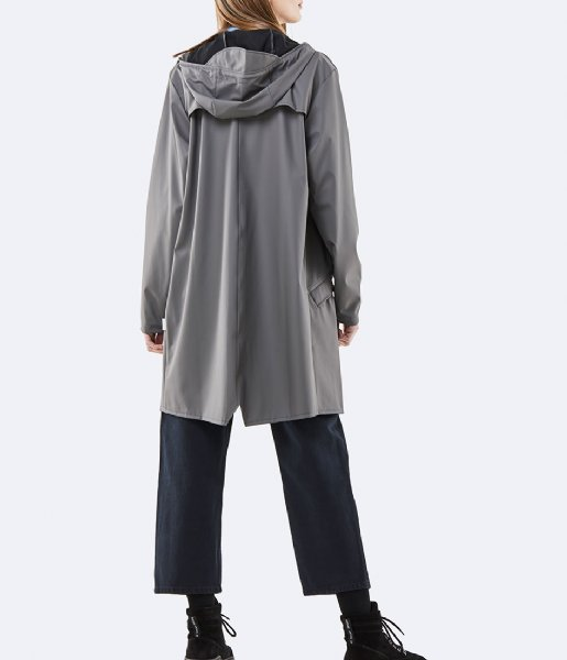 Rains Regenjas Long Jacket charcoal (18)