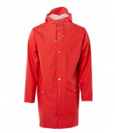 Rains Long Jacket red (08)