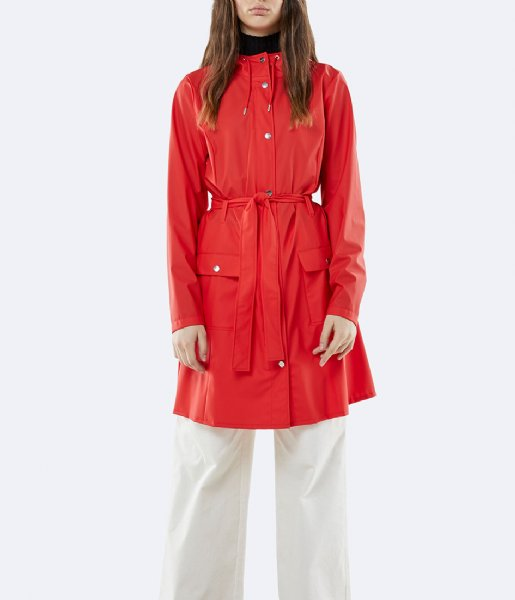 Rains Regenjas Curve Jacket red (08)