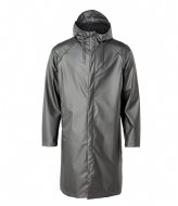 Rains Coat metallic charcoal (15)