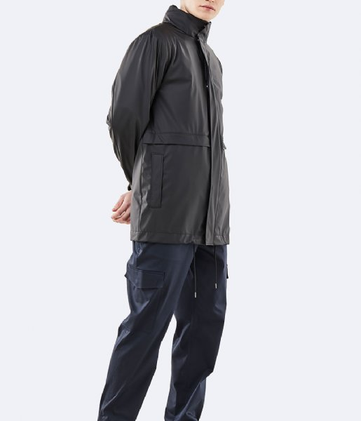Rains Regenjas Tracksuit Jacket black (01)
