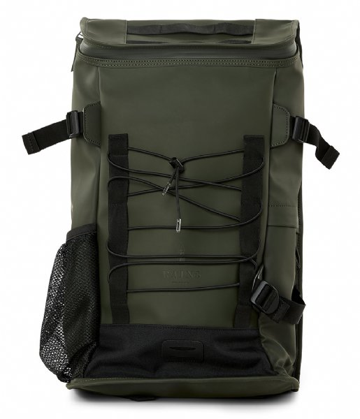 Rains Laptop rugzak Mountaineer Bag 15 Inch green (03)