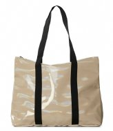 Rains Holographic City Tote holographic beige (31)
