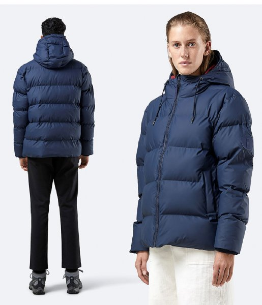 Rains Winterjas Puffer Jacket blue (02)