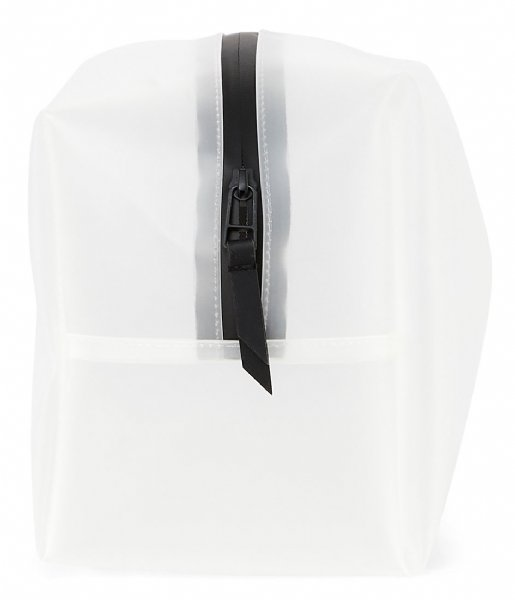 Rains Toilettas Wash Bag Large foggy white (99