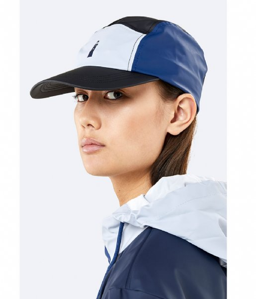 Rains Hoed - cap Color Block Dad Cap ice grey blue