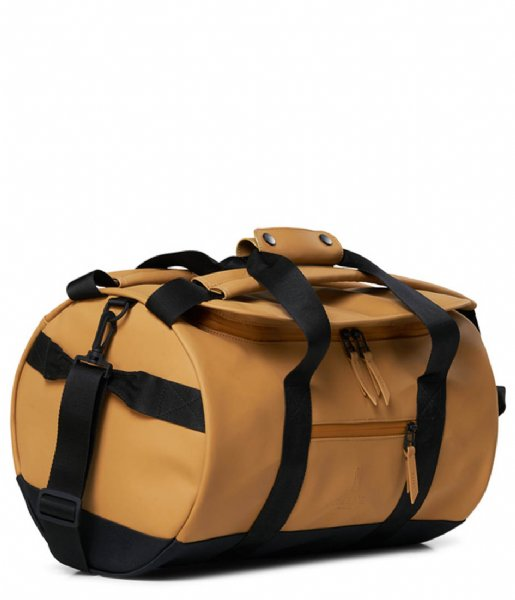Rains Schoudertas Duffel Bag Small Khaki (49)