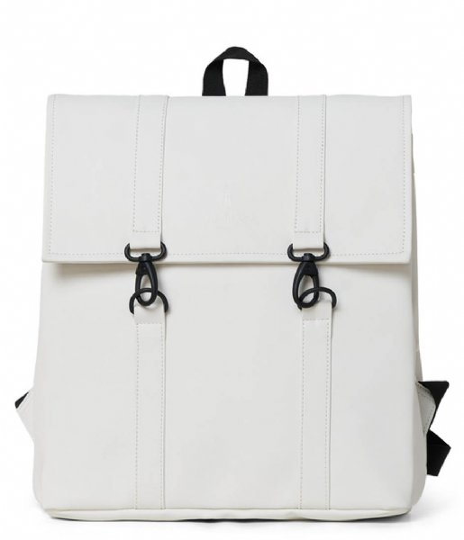 Rains Dagrugzak MSN Bag Mini Off White (58)