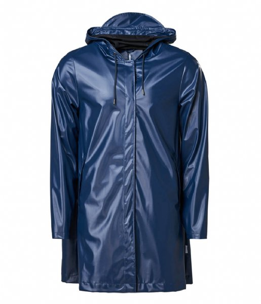 Rains Regenjas Aline Jacket Shiny Blue (07)