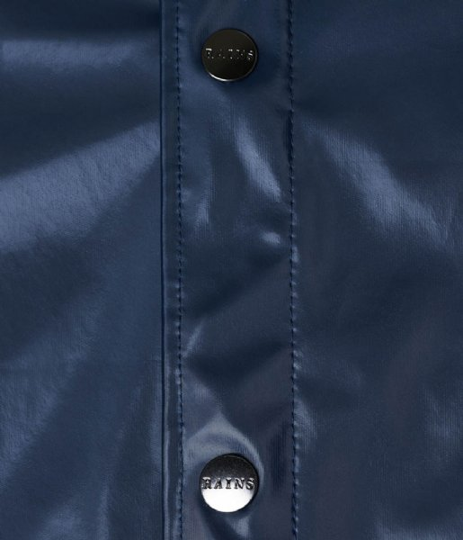 Rains Regenjas Jacket Shiny Blue (07)