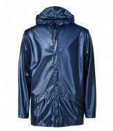Rains Jacket Shiny Blue (07)