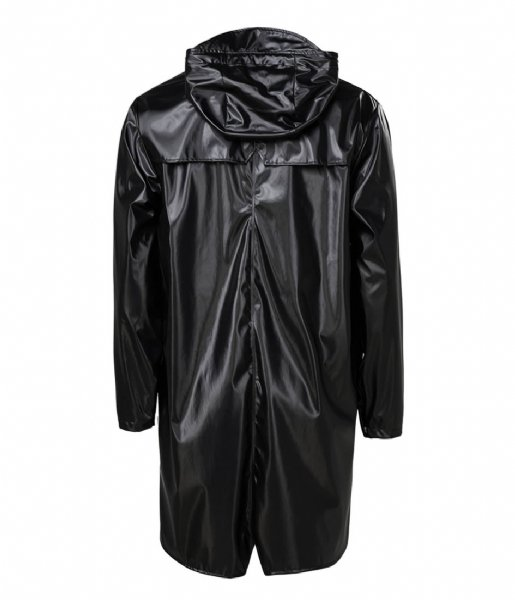 Rains Regenjas Long Jacket 76 Shiny Black