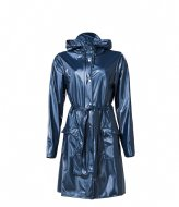 Rains Curve Jacket 07 Shiny Blue