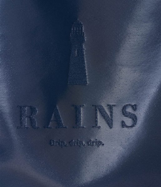 Rains Strandtas Tote Bag Rush Shiny Blue (07)