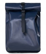 Rains Rolltop Mini Shiny Blue (07)