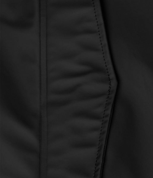 Rains Regenjas Fishtail Parka Black (01)
