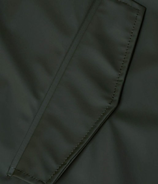 Rains Regenjas Fishtail Parka Green (03)