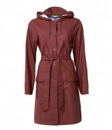 Rains Belt Jacket Maroon (11)