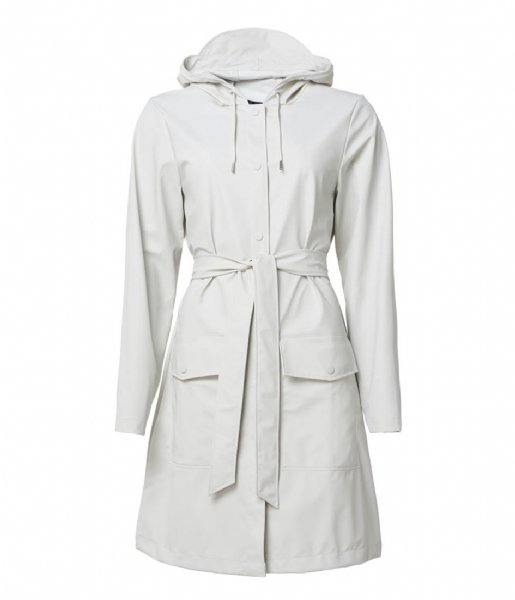 Rains Regenjas Belt Jacket Off White (58)