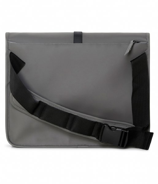 Rains Crossbodytas Commuter Bag charcoal (18)
