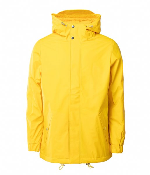 Rains Regenjas Quilted Parka yellow (04)