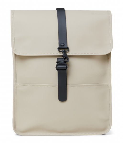 Rains Laptop rugzak Backpack 15 Inch beige (35)