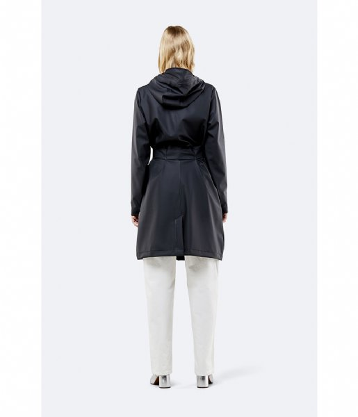 Rains Regenjas Belt Jacket black (01)