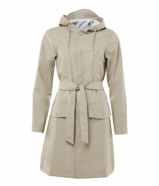 Rains Regenjas Belt Jacket beige (35)