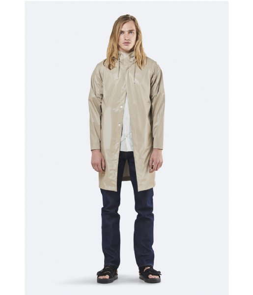 Rains Regenjas Coat shiny beige