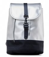 Rains Drawstring Backpack silver (12)