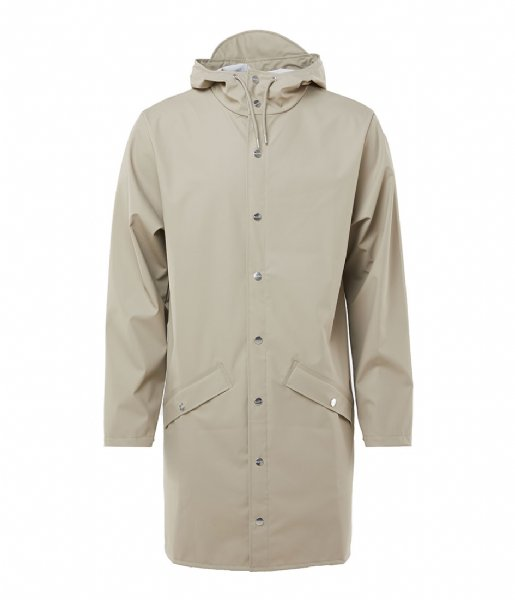 Rains Regenjas Long Jacket beige (35)