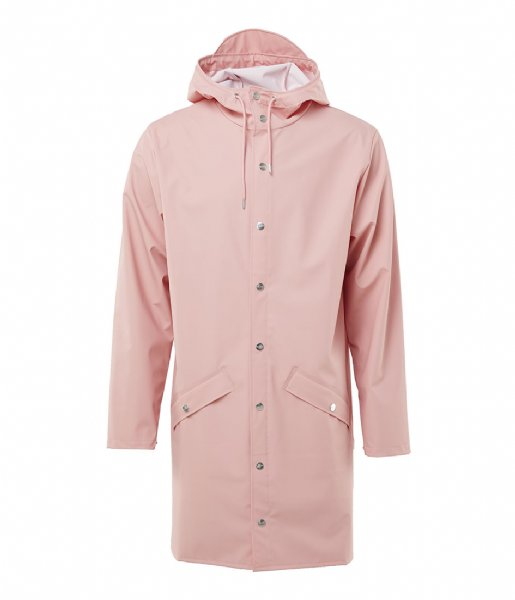 Rains Regenjas Long Jacket coral (38)