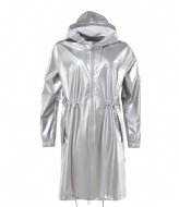 Rains Long W Jacket silver (12)