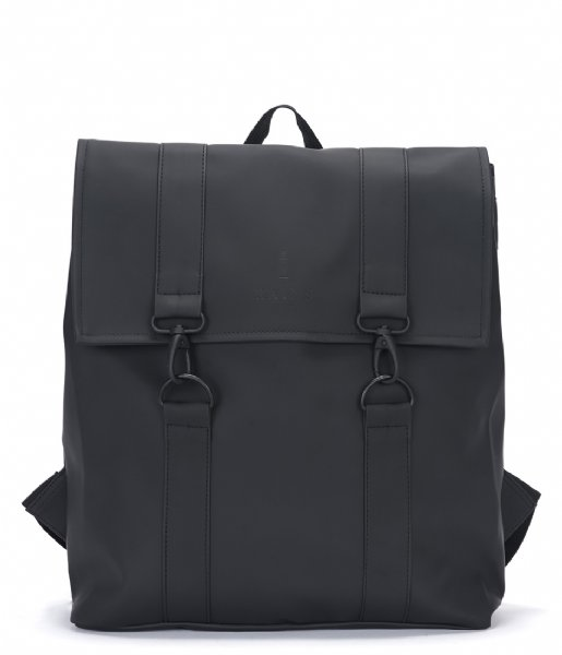 Rains Laptop rugzak Msn Bag black (01)