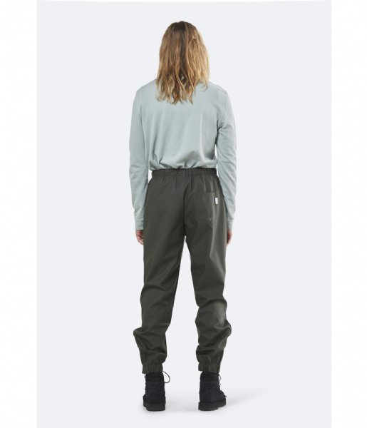 Rains Regenbroek Pants green (03)