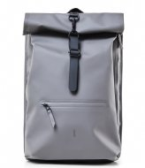 Rains Roll Top Rucksack charcoal (18)