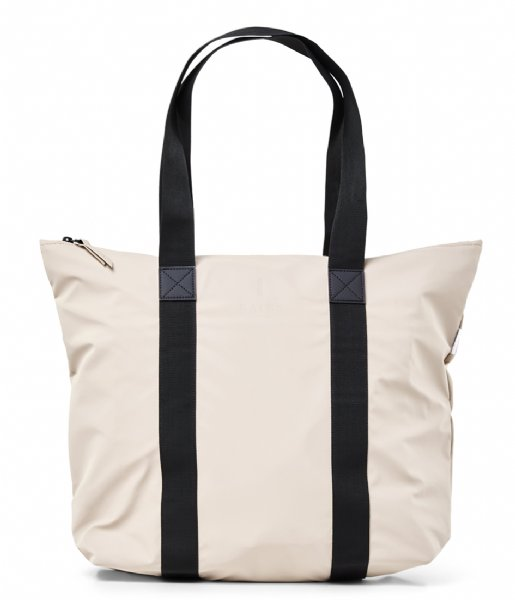 Rains Strandtas Tote Bag Rush beige (35)