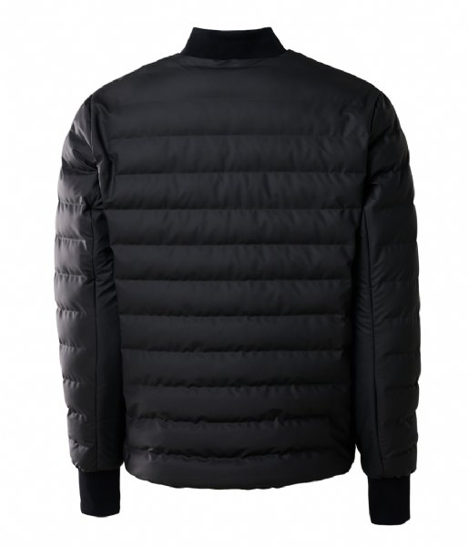 Rains Winterjas Trekker Jacket black (01)