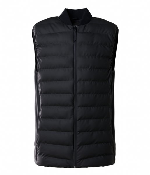 Rains Winterjas 1520 Trekker Vest black (01)