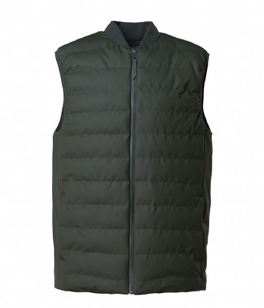 Rains Winterjas 1520 Trekker Vest green (03)