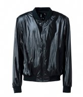 Rains City Bomber Jacket shiny black (76)