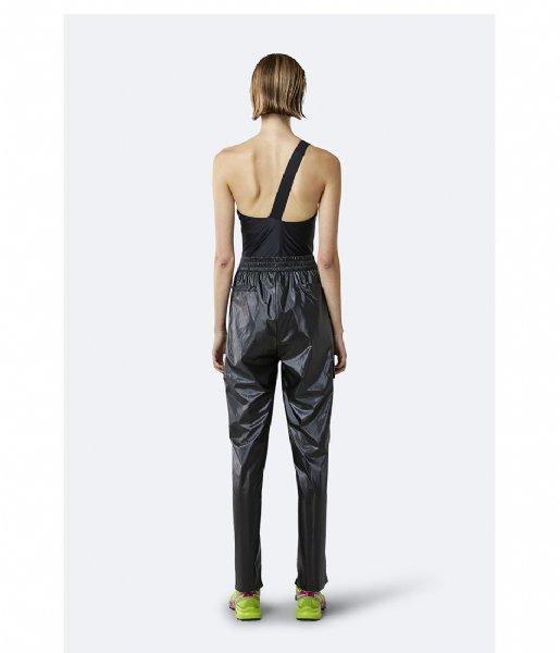 Rains Regenbroek City Pants shiny black (76)