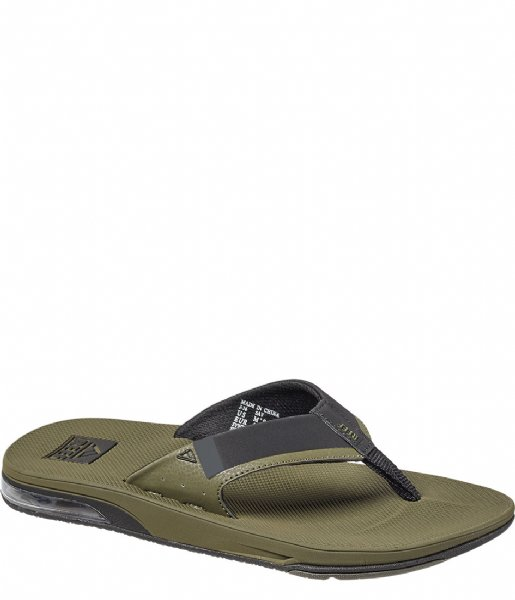 Reef Slippers Fanning Low olive