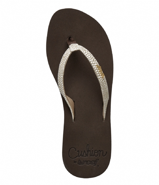 Reef Slippers Reef Star Cushion Sassy brown white